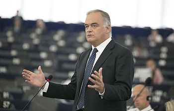 El Portavoz del PP en el Parlamento Europeo, Esteban González Pons