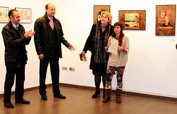 La exposición puede visitarse en el Aula Cultural Universidad Abierta.