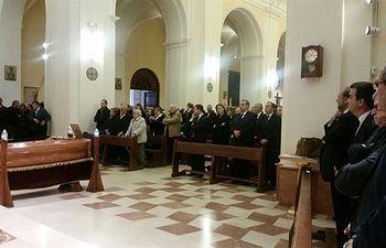 Funeral de Elena de la Cruz. Foto: Europa Press