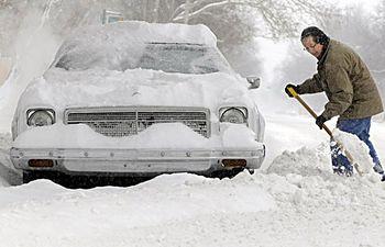 La nieve y el hielo dificultan la circulación en carreteras de Cuenca, Albacete y Guadalajara. Imagen de archivo.