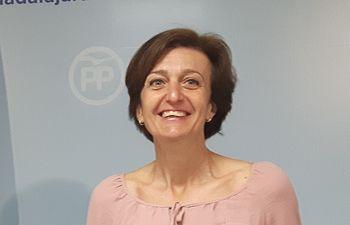 Ana González, senadora del PP por Guadalajara.