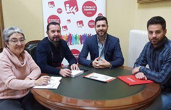 Olvido Valero, Jorge Vega, Mario García y Javier Gómez-Pintado