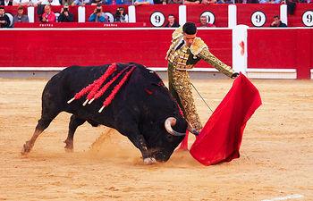 Alejandro Talavante - Su sesgundo toro - 15-09-16