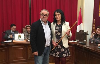 Agapati García Alcaldesa de Chinchilla de Montearagon.