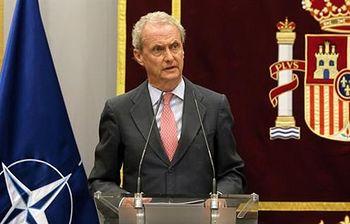 El ministro de Defensa, Pedro Morenés Eulate. Foto: Ministerio de Defensa.