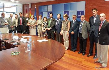 Reunión Comisión Mixta SESCAM-UAH 1. Foto: JCCM.