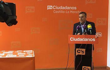 Antonio López, coordinador regional de C's en Castilla-La Mancha.