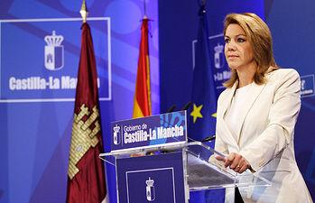 Cospedal presenta el proyecto de ley de Presupuestos Generales de Castilla La Mancha. Foto: JCCM.