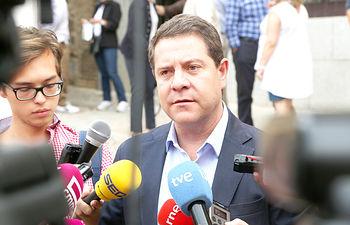 Votación de Emiliano García-Page