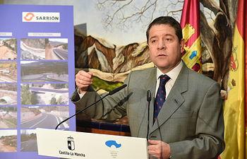 Inauguración de la reforma de la carretera CM-3225, entre Nerpio y la pedanía de Beg