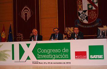 Inauguración IX Congreso Investigación SATSE Ciudad Real