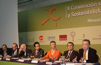 El vicerrector de Investigación, Francisco Quiles, en plena intervención