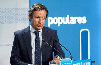 El vicesecretario de Organización y Electoral del PP, Carlos Floriano