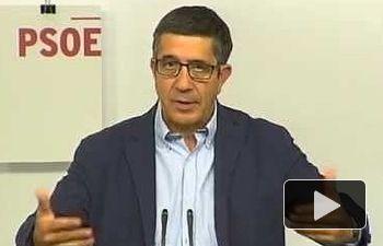 PSOE: Rechazo a la reforma electoralista del TC que quiere imponer el PP