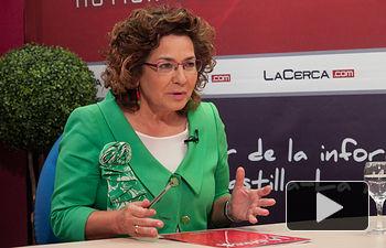Carmen Riolobos, portavoz del Partido Popular en Castilla-La Mancha.