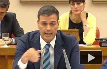 Pedro Sánchez:  Rajoy debe presentarse a la investidura y tratar de formar un gobierno