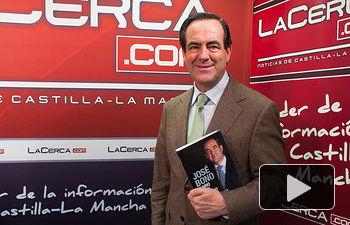 """José Bono, autor del libro """"Diario de un Ministro""""."""