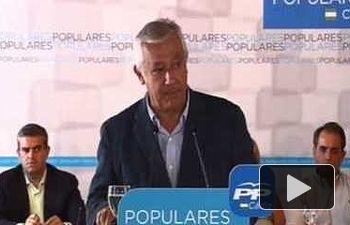 """Arenas: """"El auténtico cambio en España es haber pasado del paro al empleo"""""""