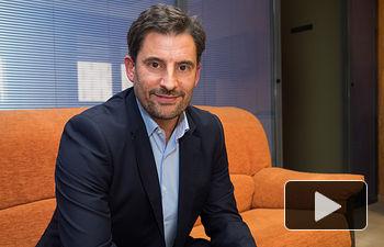 Mariano Galán, director territorial de Vodafone en Castilla-La Mancha