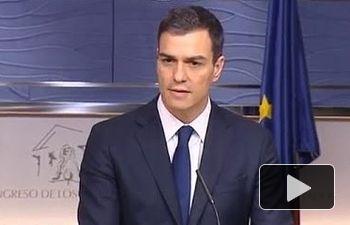 Pedro Sánchez: primero hablemos de las políticas y posteriormente de cómo se conforma ese gobierno