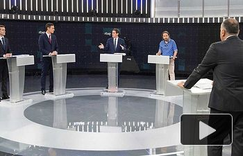 Debate 22 de abril en RTVE.