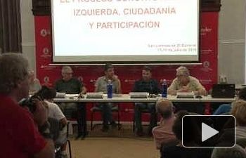 Mesa redonda : Poderes y contrapoderes en la democracia. La soberanía popular a debate