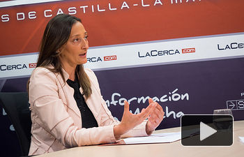Diana Granados, directora de la 'Fundación Castilla-La Mancha Tierra de Viñedos'.