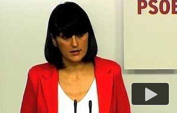 PSOE: María González Veracruz: Somos el partido capaz de recoger el sentir de la mayoría