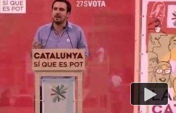 "IU: Alberto Garzón participa en el acto ""La Catalunya de la Gent"" (El Prat de Llobregat 16.09.2015)"