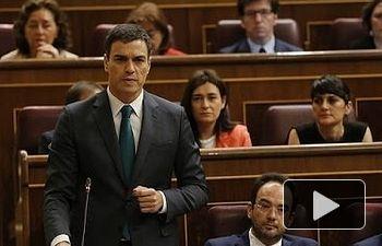 """Sánchez a Rajoy: """"Usted no tiene ninguna credibilidad ante los españoles"""""""