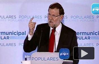 """Rajoy: """"El cambio en España ha comenzado a producirse y para bien"""""""