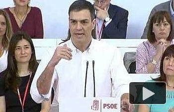 Pedro Sánchez: el PSOE sale a ganar las elecciones