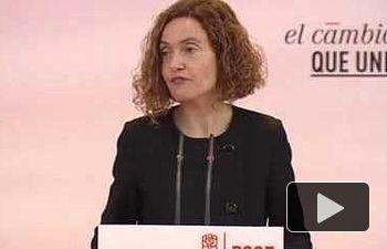Presentación de las propuestas del PSOE destinadas a la infancia