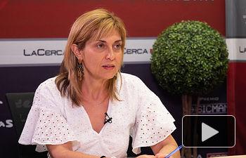 Carmen Juste, secretaria general de CCOO Albacete