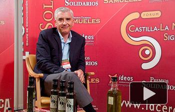 """Enrique García, gerente de la Fundación del Consejo Regulador de la Denominación de Origen """"Aceites Montes de Toledo""""."""