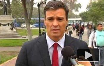PSOE: DECLARACIONES DE PEDRO SÁNCHEZ DESDE LIMA