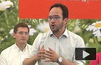 Antonio Hernando: El 26J tenemos que ganar a la pobreza , la desigualdad o la injusticia.