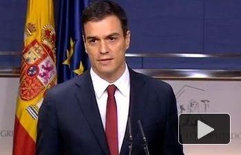 """Pedro Sánchez: """"Hoy, el cambio está más cerca"""""""