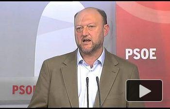 Antonio Pradas presenta la Conferencia Autonómica del PSOE. 19.01.2015