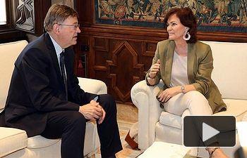 Carmen Calvo se reúne con Ximo Puig - AQUARIUS - REFUGIADOS (3) - 14-06