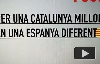 PSOE: Por una Cataluña mejor en una España diferente
