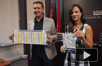 Presentación de las actividades del Stand de la Diputación en la Feria de Albacete