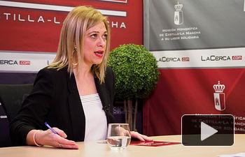 Carmen Picazo, portavoz del Grupo Ciudadanos en las Cortes de Castilla-La Mancha. Foto: Manuel Lozano García / La Cerca