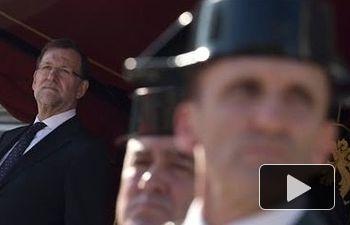 """Rajoy agradece a la Guardia Civil su """"compromiso"""" y """"generosidad"""""""
