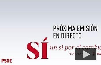 PSOE: Pedro Sánchez y Xoaquín Fdez. Leiceaga  intervienen en un acto en Oroso