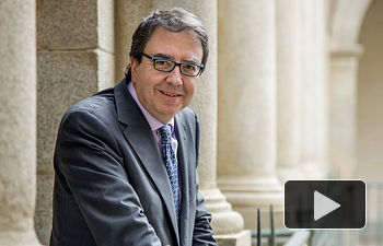 Fernando Galván, rector de la Universidad de Alcalá.
