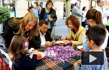 Foto.Muestra del XXX Festival de la Rosa del Azafrán de Santa Ana
