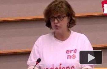 """IU: Paloma López, sobre la Comisión Juncker """"No a sus políticas, no con el voto de la izquierda"""""""