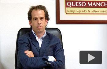 Ignacio Barco, presidente de la Fundación Consejo Regulador de la Denominación de Origen Queso Manchego