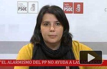 """PSOE: """"Los dirigentes del PP critican mucho pero luego a la hora..."""""""